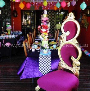 Alice in Wonderland Party 7
