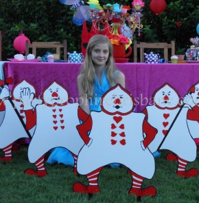 Alice in Wonderland Party 77