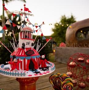 Carnevil Cake