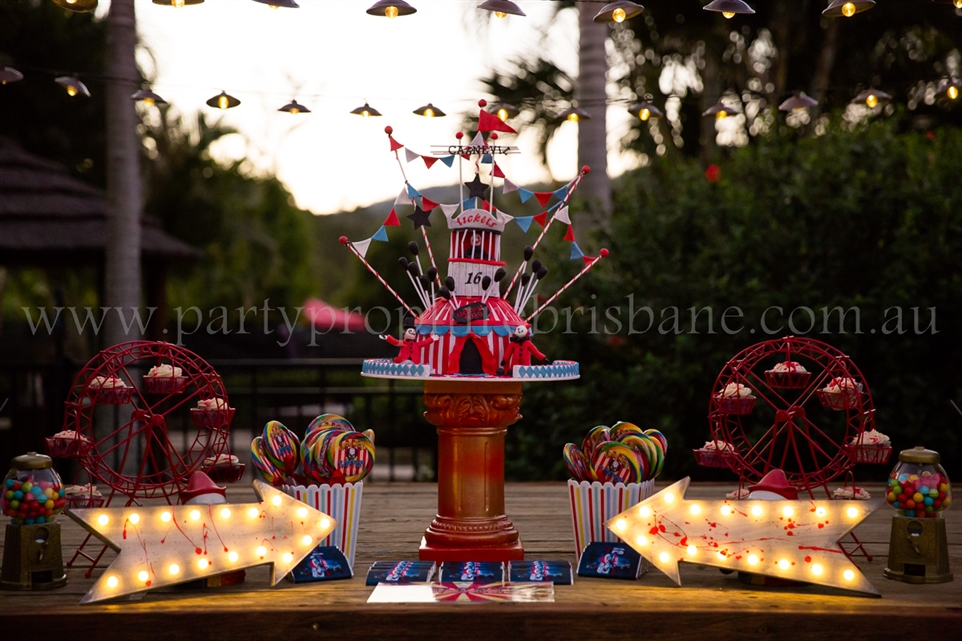 Carnival Circus Party Prop Hire