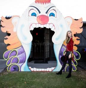 Funhouse Entrance